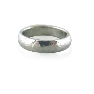 image of New Gurhan Platinum Band Ring