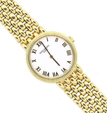 image of Patek Philippe Lady's 18k Yellow Gold Calatrava Wristwatch