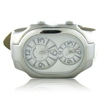 image of Philip Stein Signature Dual Time Ladies Watch