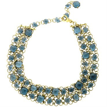 image of New Pomellato Nausicaa Topaz Gold Necklace