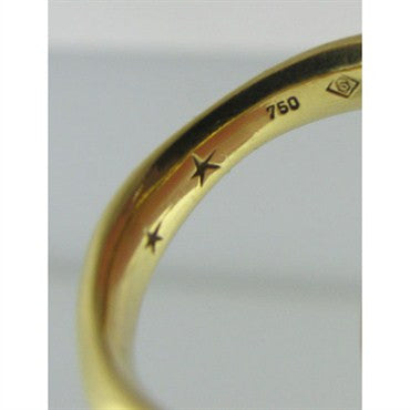 thumbnail image of Estate H. Stern 18k Gold Diamond Three Band Ring Set