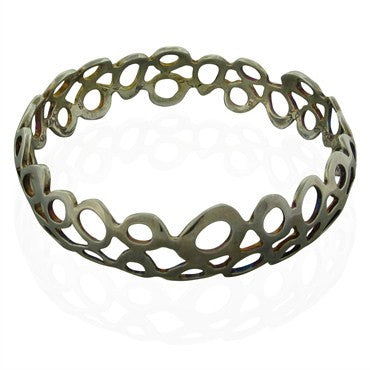 image of Robert Lee Morris RLM Sterling Silver Bangle Bracelet