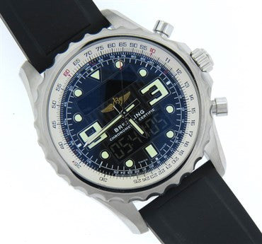Breitling Chronospace Stainless Steel Mens Watch A78365