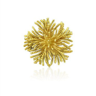 image of Estate Tiffany & Co 18k Yellow Gold Brooch Pin
