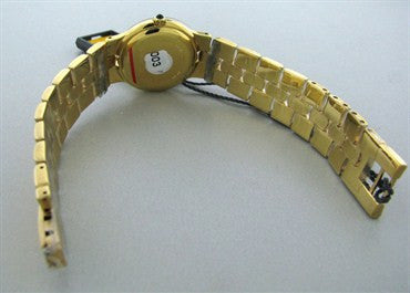 thumbnail image of New Fendi Womens 18k Gold Plated Stainless Steel Watch F88250