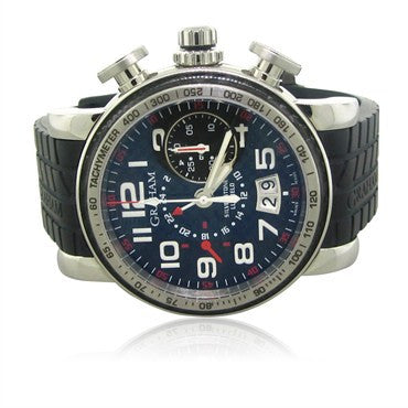 thumbnail image of Graham Grand Luffield GMT Flyback Chronograph Watch 2GSIUS.B05A.K07B