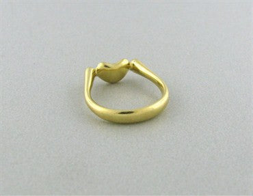 thumbnail image of Estate Tiffany & Co Elsa Peretti 18K Gold Bean Ring