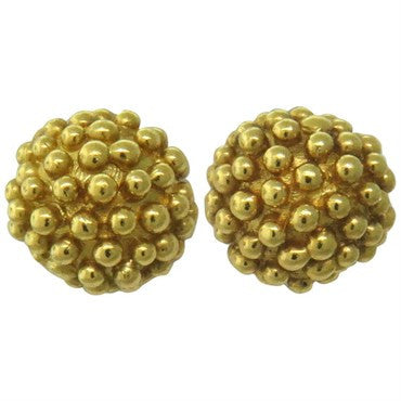 thumbnail image of Julius Cohen 22k Gold Stud Earrings