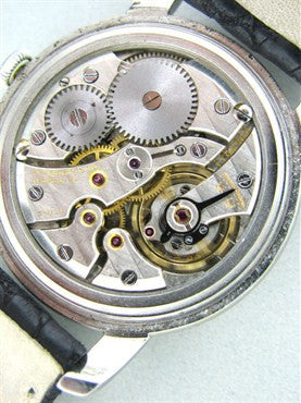 image of Rare Men's 1950s Vintage IWC Schaffhausen Watch Stainless Steel Cal.89