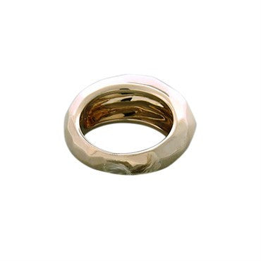 thumbnail image of New Pomellato 18k Gold Faceted Dome Ring