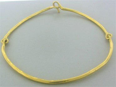 image of Jean Mahie Modernist 22K Yellow Gold Necklace