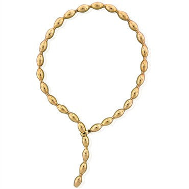 image of Faraone Mennella Modern 18K Rose Gold Necklace