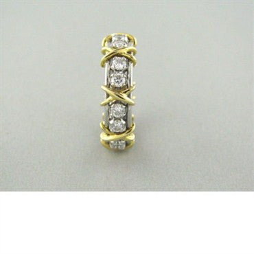 thumbnail image of Tiffany & Co Schlumberger Sixteen Stone Diamond Ring