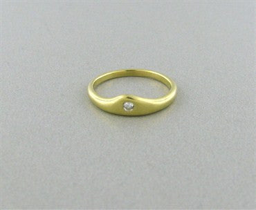 image of Tiffany & Co 18K Yellow Gold Diamond Ring