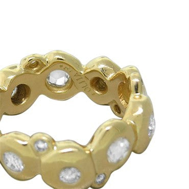 image of Ippolita Glitterati Starlet 18k Gold Diamond Band Ring