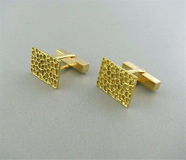 thumbnail image of Vintage Tiffany & Co 14K Gold Cufflinks