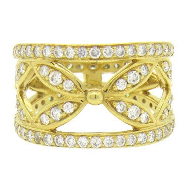 image of Temple St. Clair Foglia Diamond Gold Ring