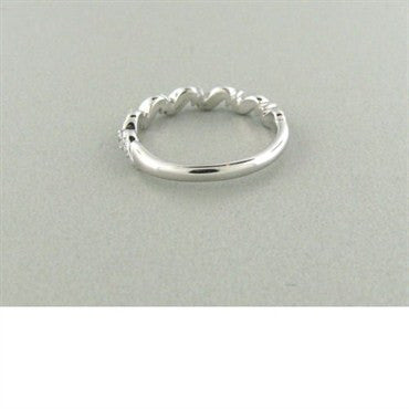 thumbnail image of Hearts On Fire Intertwining Leaf Diamond Band Ring