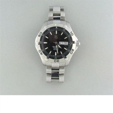 image of Tag Heuer Aquaracer Steel Automatic Mens Watch Waf2010