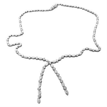 image of Harry Winston Platinum 11.21ctw Diamond Lariat Necklace