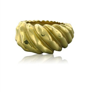 image of Tiffany & Co Jean Schlumberger 18K Yellow Gold Ring