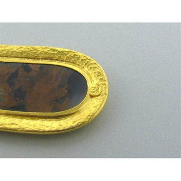 image of New Gurhan 24k Gold Gemstone Pendant