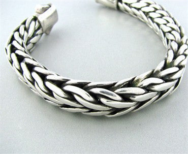 thumbnail image of John Hardy Sterling Silver Large Mens Bracelet