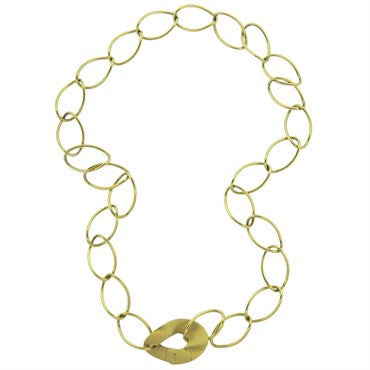 image of Pomellato 18k Gold Link Necklace