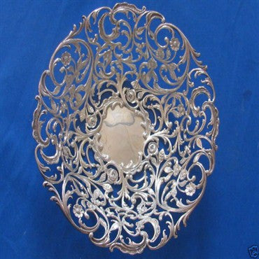 thumbnail image of Antique Howard & Co Sterling Reticulated Bowl