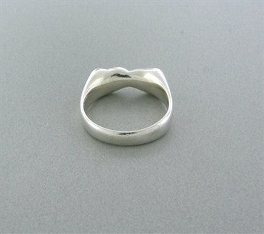 image of Tiffany & Co Elsa Peretti Full Heart Sterling Silver Ring