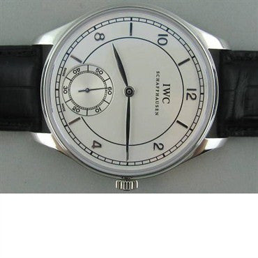 image of New IWC Vintage Portuguese Platinum Mens Watch IW544505