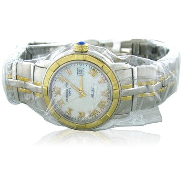 thumbnail image of Raymond Weil Womens 9440 STG 00908 Parsifal 18k Gold Steel Watch