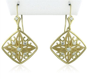 image of New Hearts On Fire Potpourri Medium Diamond Drop Earrings