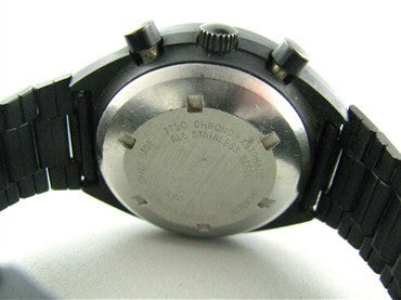 image of Rare Vintage Heuer Pasadena Chronograph Mens Watch