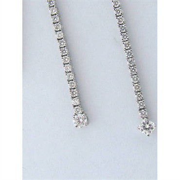 thumbnail image of Hearts On Fire 18k 1.54ct Diamond Progression Necklace