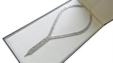 thumbnail image of H. Stern Metropolis Collection Diamond Gold Necklace