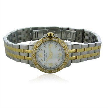 image of Raymond Weil Tango Mini Mother Of Pearl Dial Diamond Ladies Watch