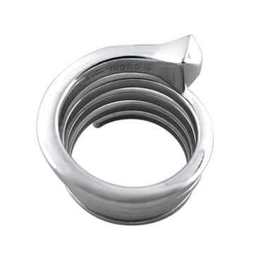 thumbnail image of Gucci Chiodo 18K White Gold Spiral Ring