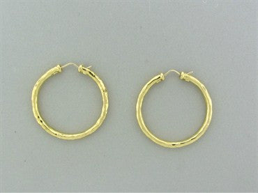 image of Roberto Coin 18K Yellow Gold Hoop Earrings