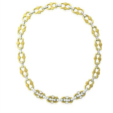 image of Buccellati 18K Gold Diamond Necklace