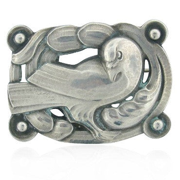 image of Estate Vintage Georg Jensen Sterling Brooch 209