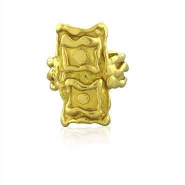 image of Jean Mahie Modernist 22K Yellow Gold Ring