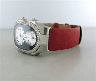 thumbnail image of Philip Stein Teslar Stainless Steel Diamond Ladies Watch