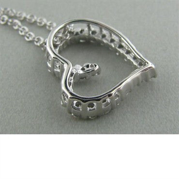 thumbnail image of Hearts On Fire Amorous Small Heart Diamond Necklace