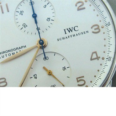 thumbnail image of Estate IWC Portugese Chronograph Mens Watch