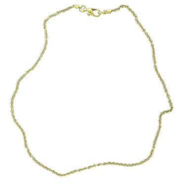 image of Pomellato 18K Gold Chain Necklace 16 Inches Long