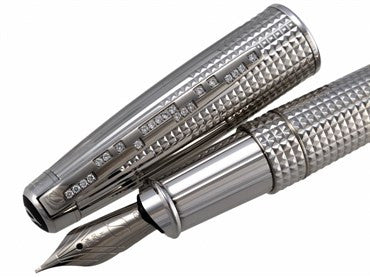 image of ST Dupont Olympio XL Diamond Drops Fountain Pen 481473M