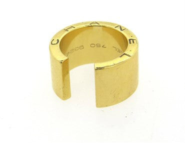 thumbnail image of Chanel Gold Cuff Open Band Ring