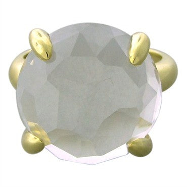 thumbnail image of New Ippolita 18K Yellow Gold Clear Quartz Ring