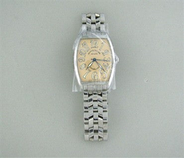 thumbnail image of Franck Muller Casablanca 2852 Stainless Steel Salmon Dial Mens Watch